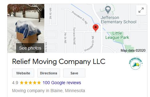 Google Maps SEO Moving Businesses Company
