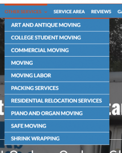 Types of Moving Service Jobs