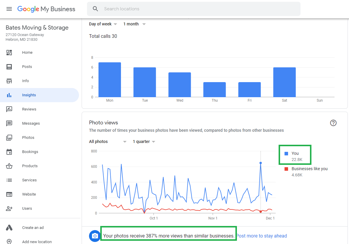 Organic SEO for Moving Business