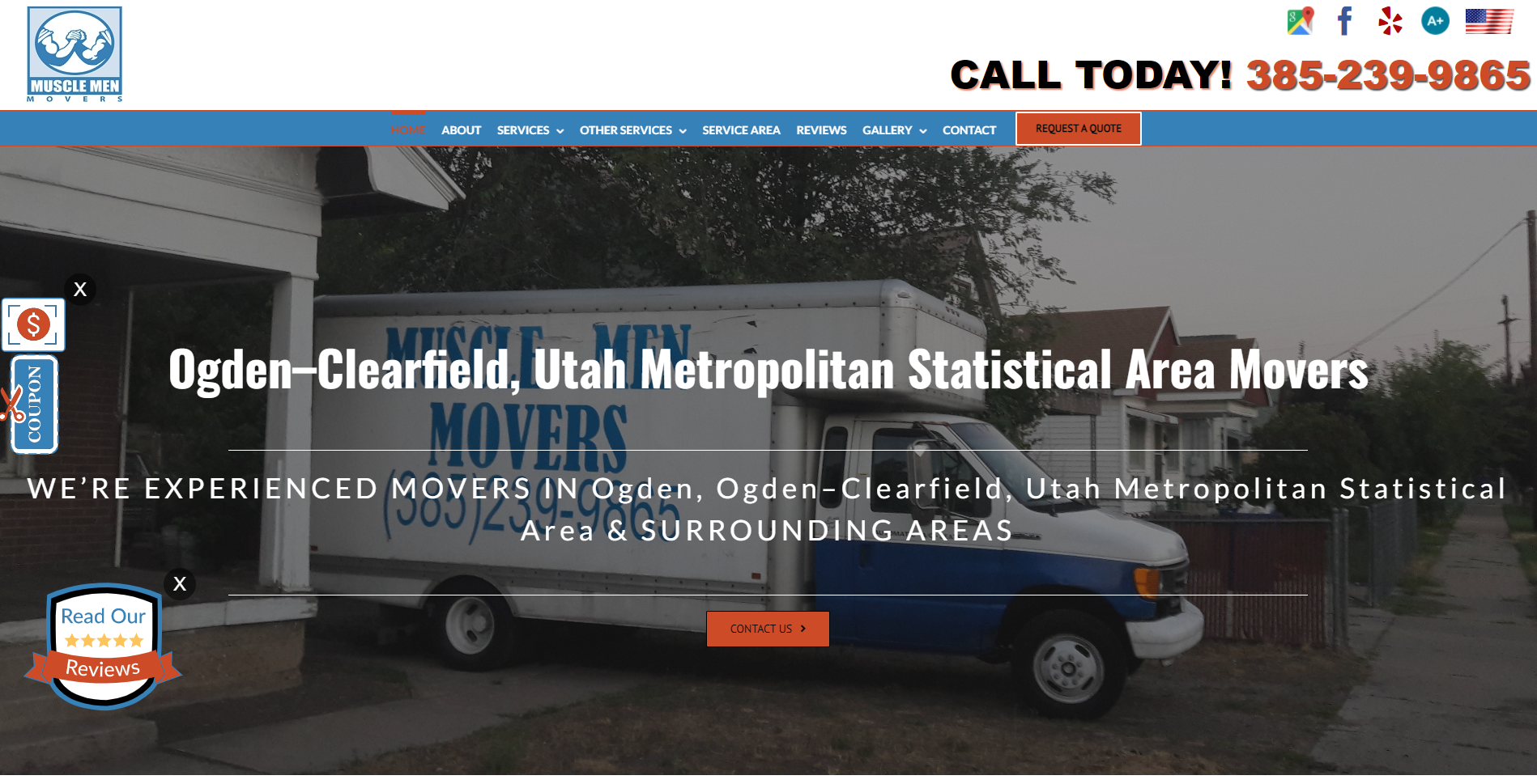 Website Marketing for Movers